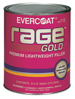 Rage GOLD Body Filler Gallon