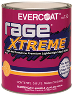 Evercoat Rage XTREME Body Filler Gallon