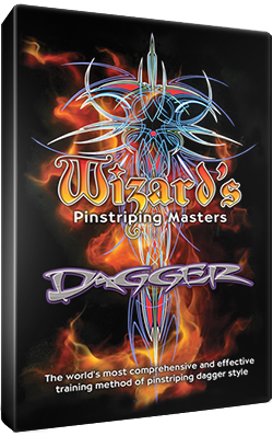 Wizard Pinstriping DVD's
